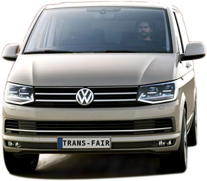 Taxi Annecy transfer uses, among other things, VW Caravelles 4 motion