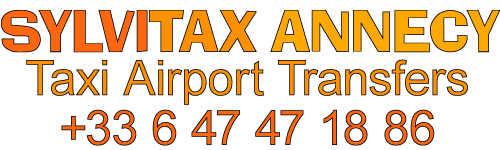 Service de taxi au départ d'Annecy ou vers Annecy